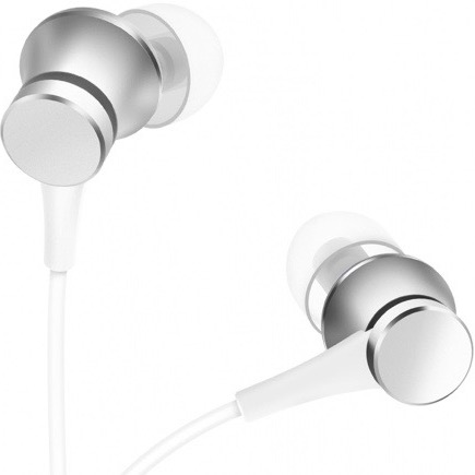 Наушники Xiaomi Mi In-Ear Headphones Basic, серебристые
