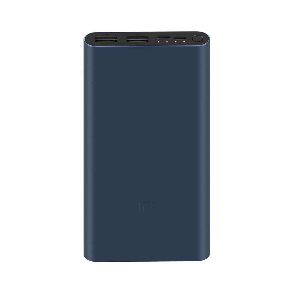 Внешний аккумулятор Xiaomi Mi Power Bank 3, 18W, Fast Charge (Black)