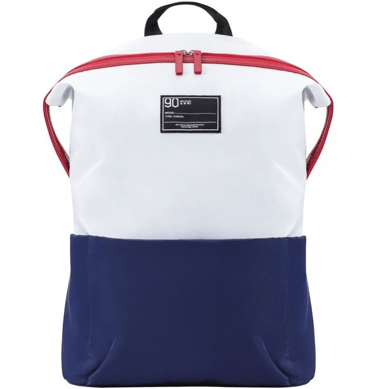 Рюкзак NINETYGO Lecturer Leisure Backpack. Цвет: белый/синий